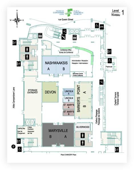 Fredericton Convention Centre Floor Plans